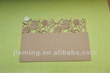 laser cut crafts square felt placemat