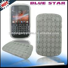 For Blackberry Bold 9900 Prismatic Shape TPU Gel Case