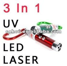 2012 Red Laser Keyring