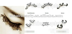 Lady's paper eye lashes top quality