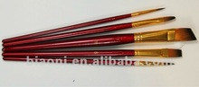 China manufacturer synthetic artist oil painting brush