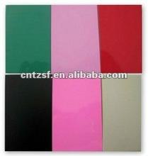 glossy powder coating for metallic spray