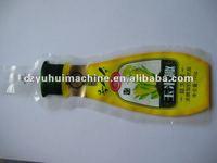 automatic big capacity liquid wine bag filling sealing packing machine