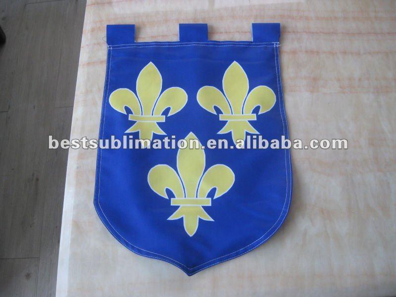 Dise o de las banderas de la bandera del jard n de la tela for Banderas decorativas para jardin