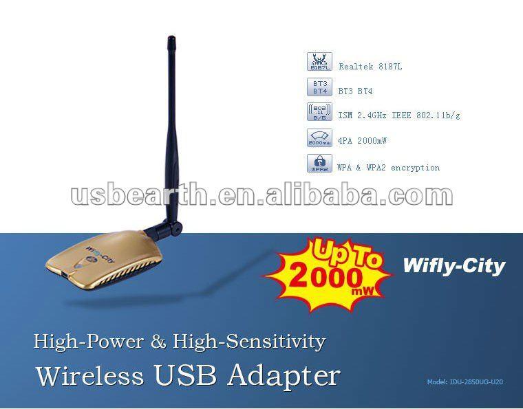 Wifly-city IDU-2850UG-U20 Original product,up to 2000MW Now!
