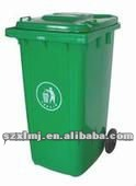 green, environmental friendly dustbin mould
