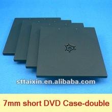 7mm plastic dvd case // short PP