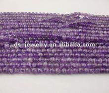 High quality 8mm gemstone beads amethyst