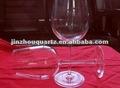 chantant en cristal verres à vin
