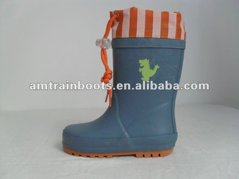 children's rubber rain boots