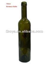 750ml Bordeaux Bottle/ Wine Bottle