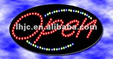 UH shenzhen 2012 steady effect wireless control single /dual color led restaurant signs outdoor
