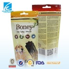 Stand up plastic food bag pouch pet food packaging design