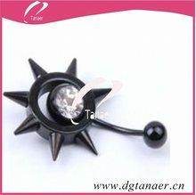 2012 high quality body jewelry anodized jewelry