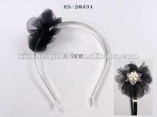 2012 most popular net flower hair rubber band