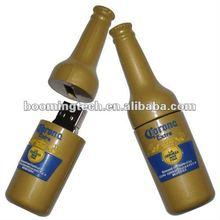 bottle beer pvc USB Flash Drives 32G