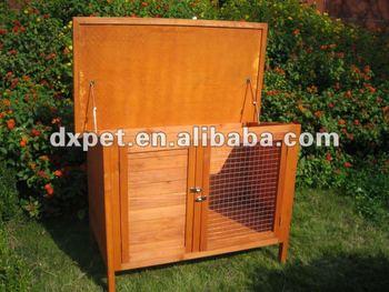 wooden rabbit house/ rabbit kennel