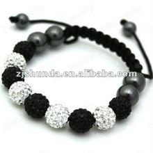 Shamballa Bracelet with Fashion Crystal Charm