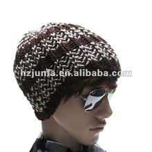 2012 hot sale acrylic jacquard men cheap winter sports cap
