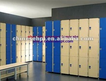 LIJIE phenolic hpl removable lockers for supermarket