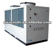 Air cooled water chiller system with R410A microprocessor control and alarm fault display