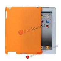 Matte Surface Hard Case Cover for iPad 2(Orange)