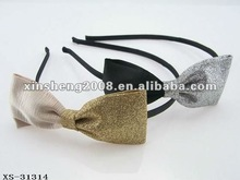 2012 new design double colors bow alice band