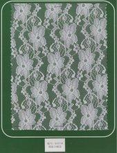 polyamide/spandex elastic lace