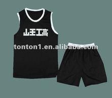 Dye Sublimation Custom Basketball Jersey Uniform 2012