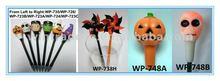 LED Flashing Halloween Gift pens, Halloween light up pen