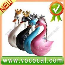 Cartoon Swan Animal Speakers Portable