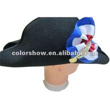 Fashion pirate hat !!100% Wool Hat !!