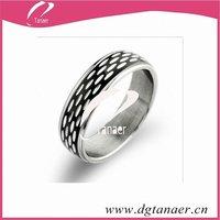 2012 Lovely make stainless steel rings