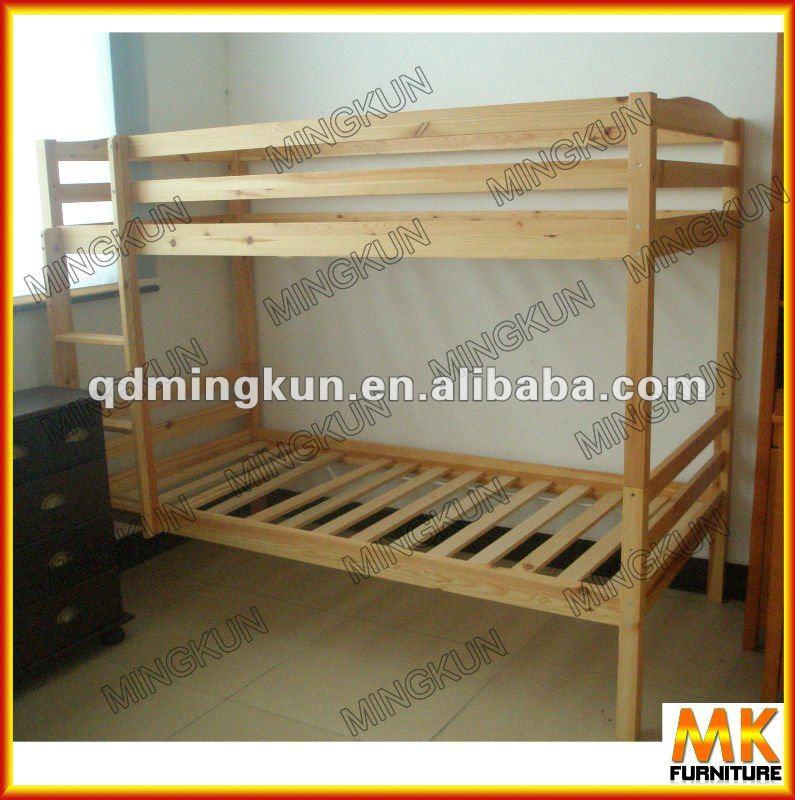 De madera de cabrito de litera camas identificaci n del - Literas infantiles de madera ...