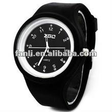fashion silicone jelly watch