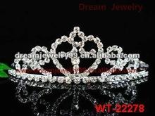 fashion bridal tiara wedding hair crown