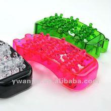 Supply fashion plastic foot massage device stock small order