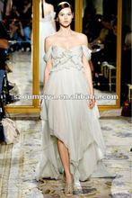 OEE505 Silk Chiffon Off Shoulder Vintage Evening Dresses 2012