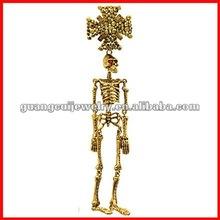 fashion Halloween skeleton unique brooch pendant