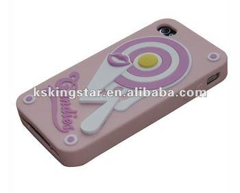 Drop Glue craft stylish slicone case for iphone