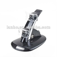 USB Dual Controller Control Charger Stand Dock Station for PS3 Charging LED