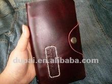 Retro leather book cover