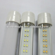 2012 hot transparent cover 18w led reb tube