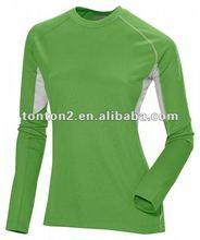 Women Customized Long Sleeve Sports Shirt