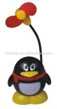 QQ Penguin Design Mini Fan