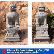 Stone granite lion sculpture, statue factory