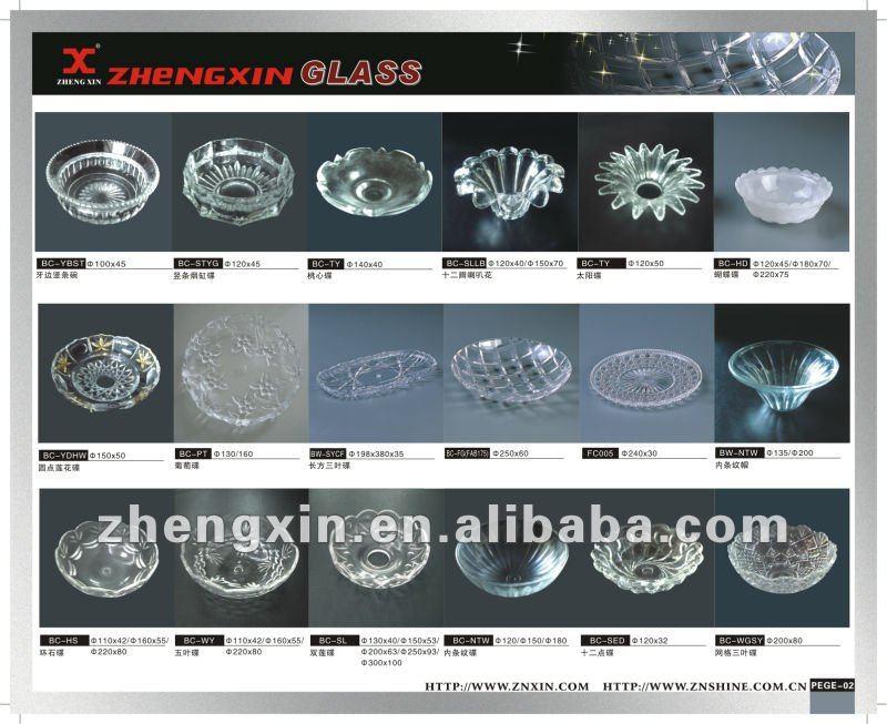 vetro per lampadari : Vetro bobeche/piatto di vetro per lampadari-Coperta e paralume di ...