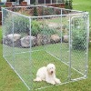 4' x 4'x 4' Box Dog Kennel and Dog Pen System Dog Fence Crate