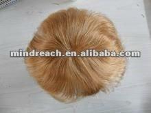 Premium 6'' 30# 8x10100% Indian remy hair toupee accept escrow