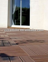 2012 new wood plastic composite wpc flooring